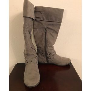 Rampage Batari Faux Suede Boots